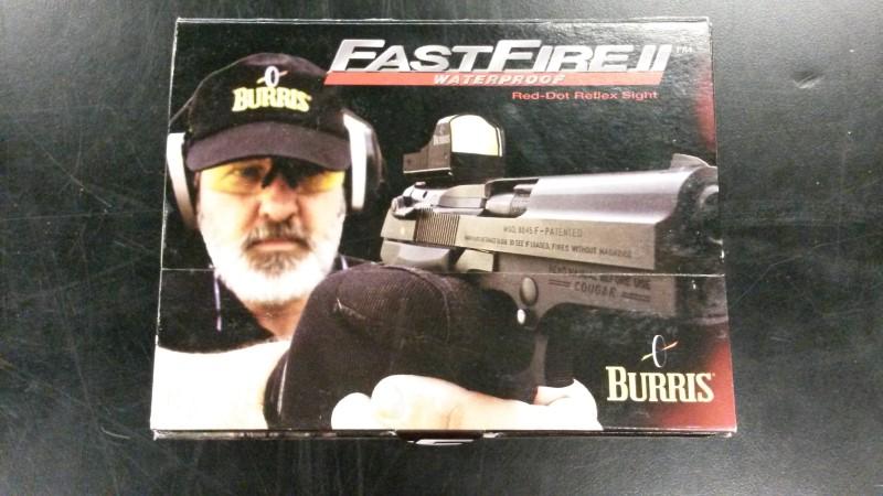 BURRIS Firearm Scope FASTFIRE II