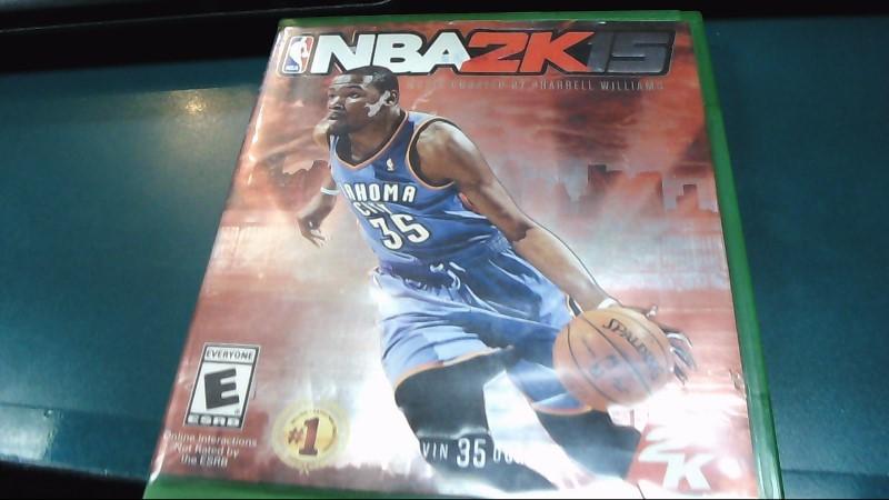 Microsoft XBOX One Game NBA 2K15 - XBOX ONE