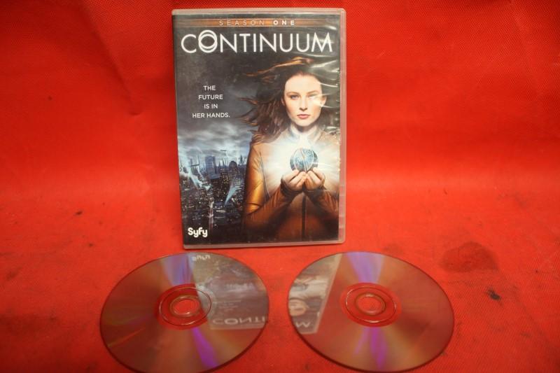 CONTINUUM Season One (2-Disc Set) DVD FREE SHIPPING.