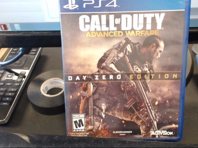 SONY Sony PlayStation 4 Game CALL OF DUTY ADVANCED WARFARE DAY ZERO EDITION PS4