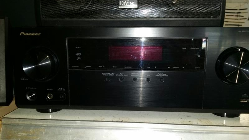 PIONEER ELECTRONICS Receiver VSX-523-K