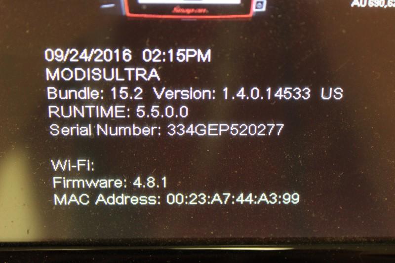 Snap-On MODIS Ultra Diagnostic System - EEMS328