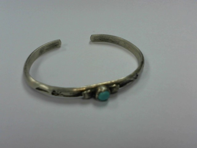 Turquoise Silver-Stone Bracelet 925 Silver 3g
