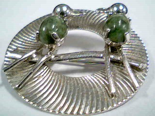 Silver Brooch 925 Silver 6.53g