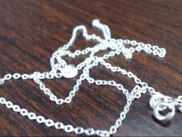 "18"" Silver Chain 925 Silver 2.3g"