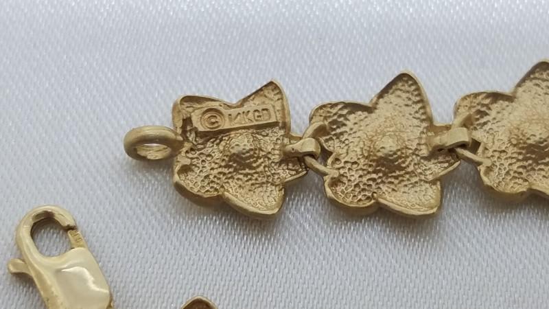 Gold Fashion Bracelet 14K Yellow Gold 12.7g
