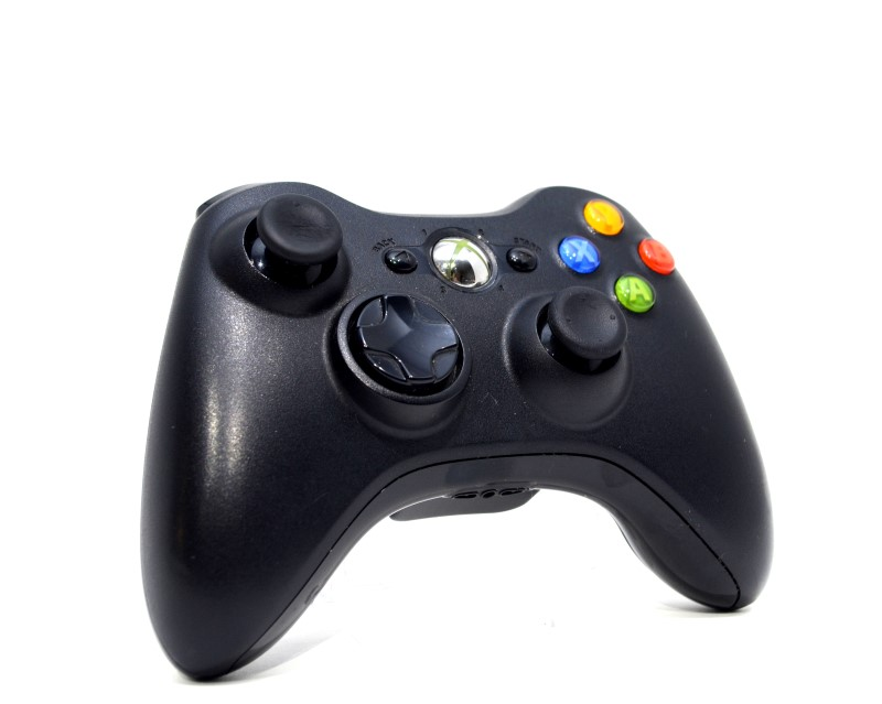 MICROSOFT XBOX 360 WIRELESS CONTROLLER 1403 TESTED FREE SHIPPING>