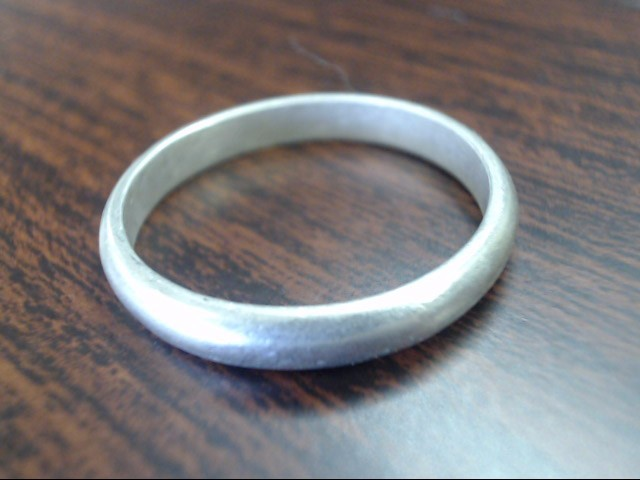 Gent's Silver Ring 925 Silver 3.8g Size:12