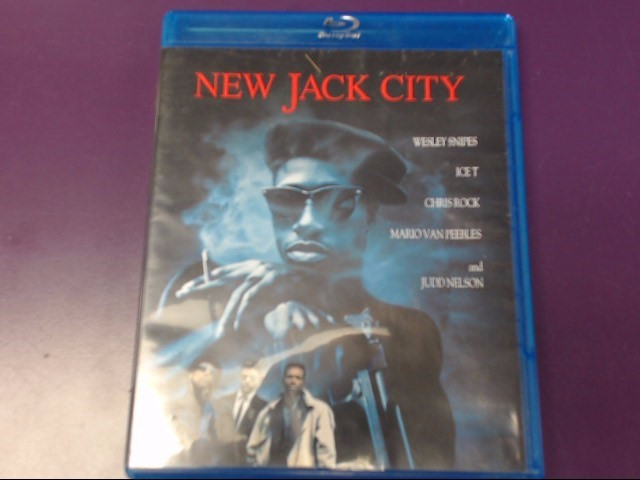 MOVIE BLU-RAY: NEW JACK CITY
