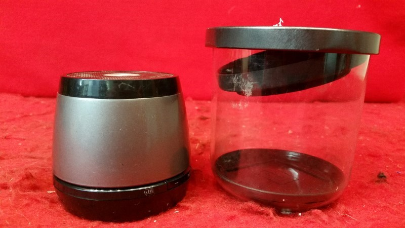 HMDX Jam Classic 2.0 Wireless Splashproof Bluetooth Speaker w/30 Ft Range Black