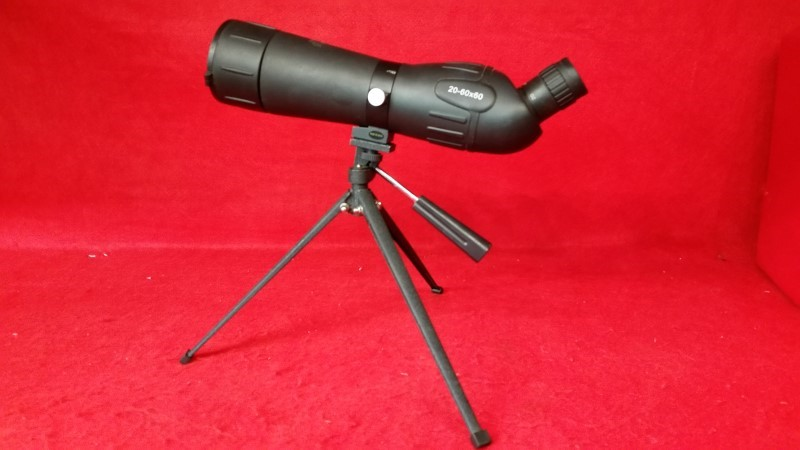 China Spotting Scope - 20-60x60 - Includes Tripod
