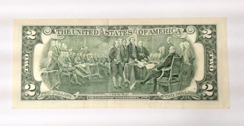 UNITED STATES Paper Money - World 2 DOLLAR BILL