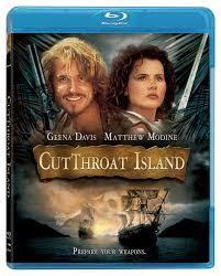 BLU-RAY MOVIE Blu-Ray CUTTHROAT ISLAND