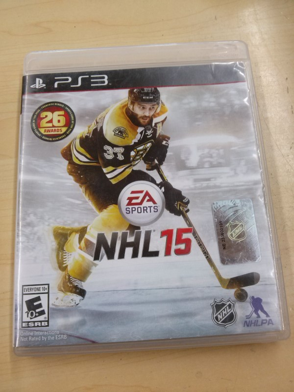 SONY Sony PlayStation 3 Game NHL 15 PS3