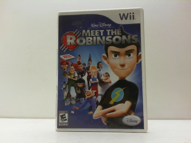 NINTENDO Nintendo Wii Game WII MEET THE ROBINSONS