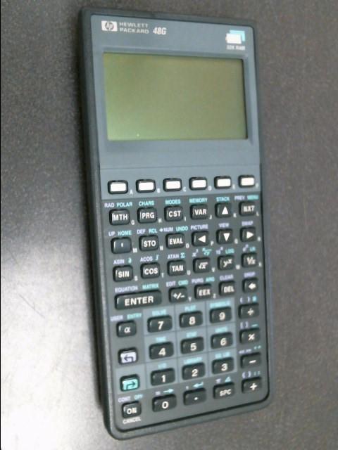 HEWLETT PACKARD Calculator 48G