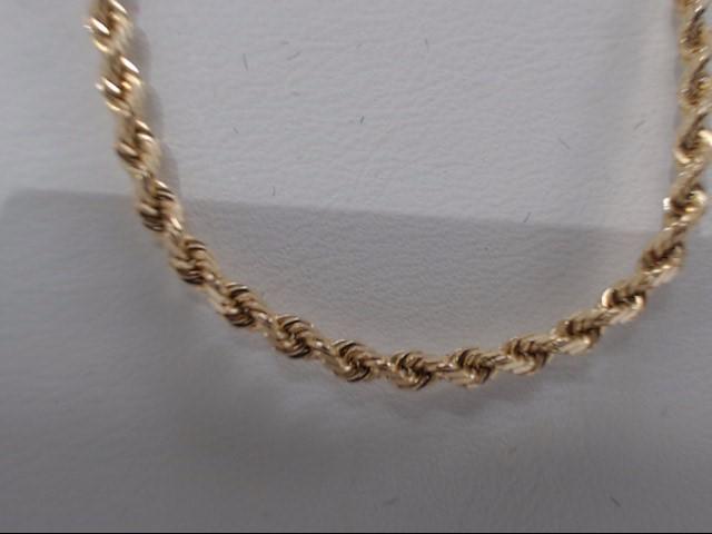 Gold Chain 14K Yellow Gold 7g