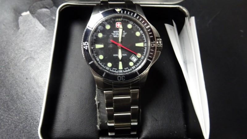 SWISS ARMY Lady's Wristwatch WENGER 7918X/T