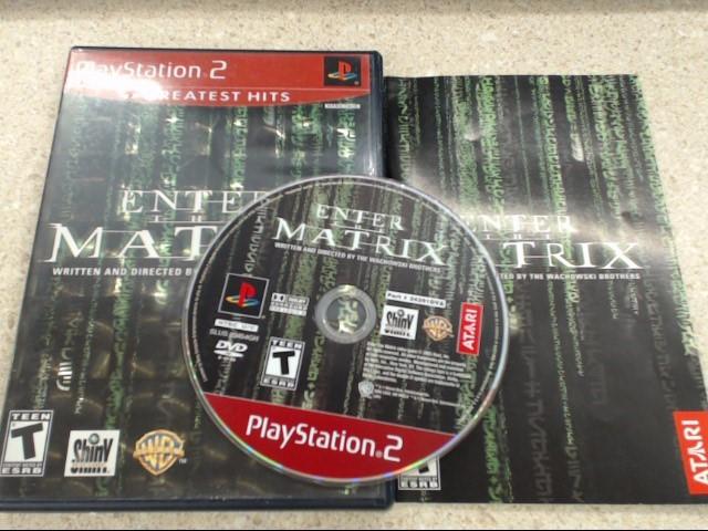 ENTER THE MATRIX - PLAYSTATION 2 GAME