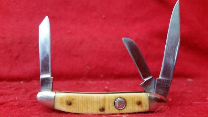 Premier K80 3 Blade Folding Knife - Vintage - 440 Stainless - Japan