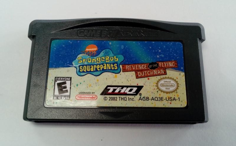 SpongeBob SquarePants Revenge the FlyingDutchman GameBoy Advance GBA