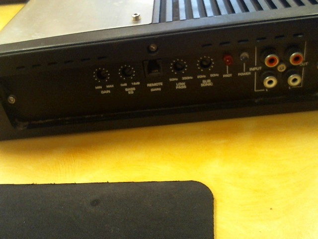 MEMPHIS AUDIO Car Amplifier POWER REFERENCE PR500.1