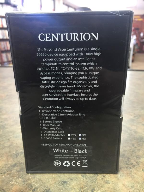 BEYOND VAPE E-Cigarette/Vaping/Juice CENTURION