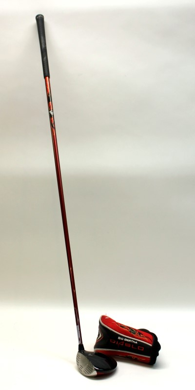 CALLAWAY BIG BERTHA DIABLO 5D LEFT HAND FAIRWAY 5 WOOD 60G REG FLEX>