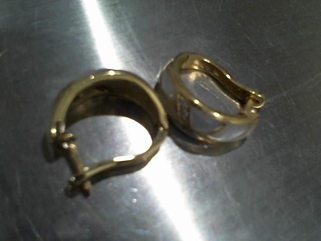 Gold Earrings 14K Yellow Gold 9g