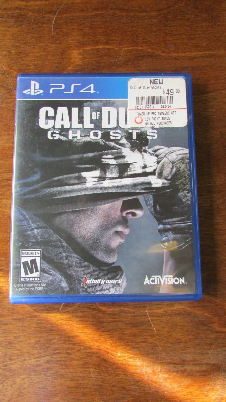 SONY CALL OF DUTY GHOSTS - PS4