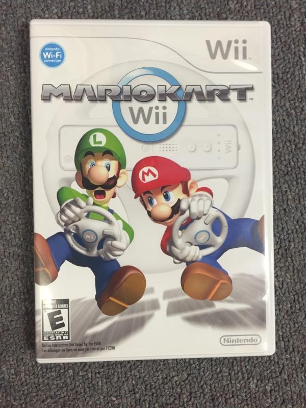 Mario Kart (Nintendo Wii, 2008) Wheel Not Included