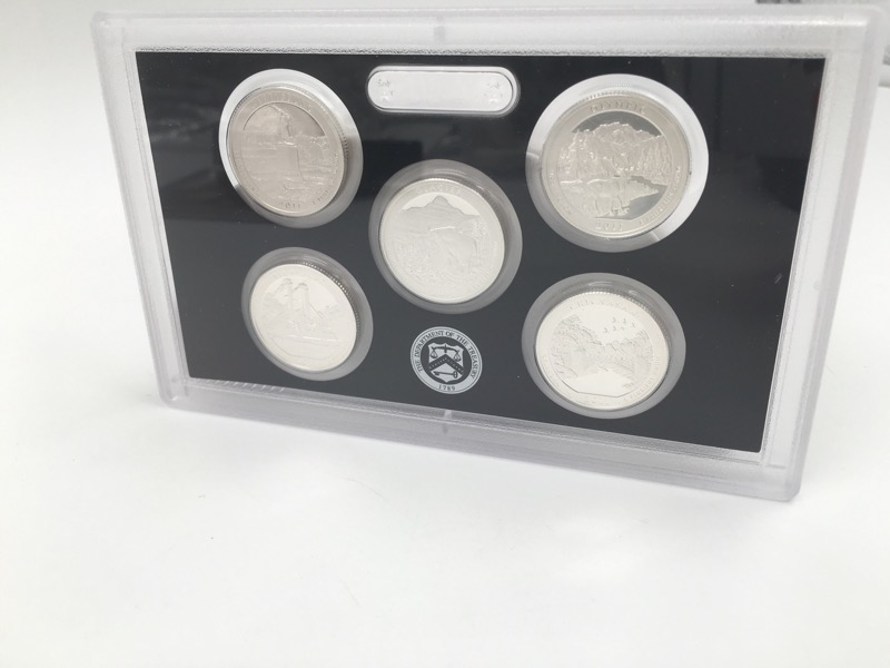 2011 United States Mint Silver Proof Set - With Box & COA