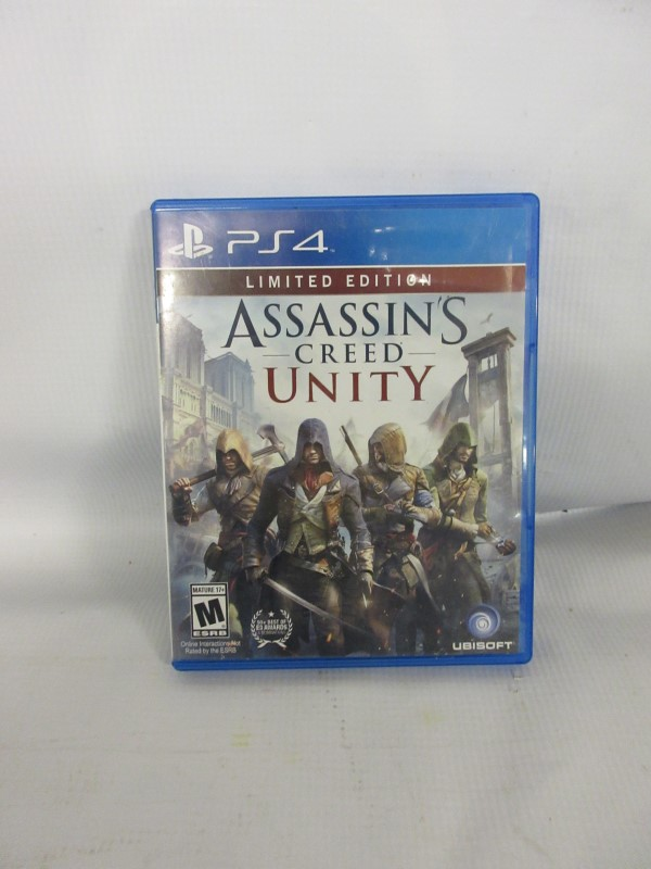 Assassin's Creed Unity, PS4