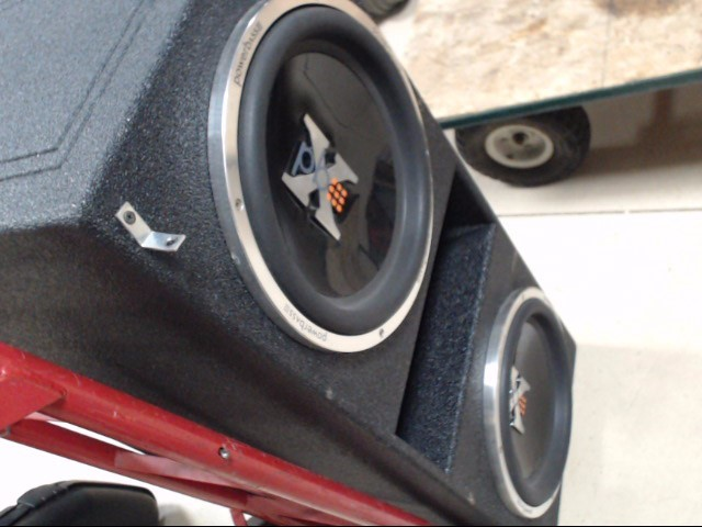 "POWER BASS Car Audio 3XL 12"" SUBS"