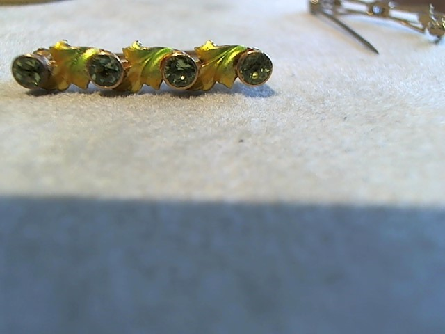 Gold Brooch 14K Yellow Gold 1.8g