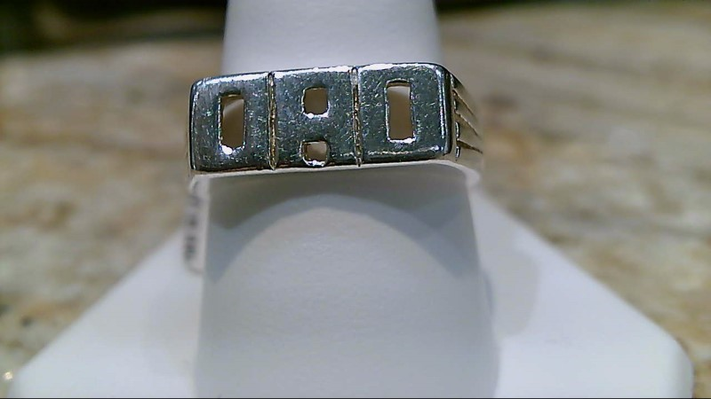 Dad Ring 925 Sterling Silver Ring Size 10.25 Father