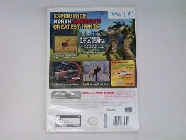 Wii CABELA'S NORTH AMERICAN ADVENTURES