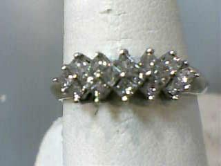 Lady's Diamond Fashion Ring 16 Diamonds .48 Carat T.W. 14K Yellow Gold 2.3dwt