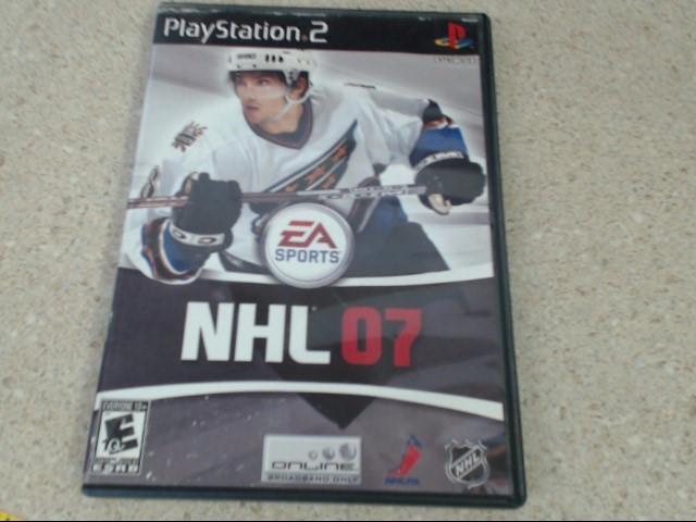 NHL 07 - Playstation 2 Game