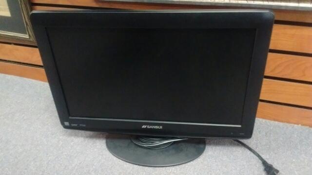 "SANSUI FLAT PANEL TV HDLCD1955B 19"" LCD"