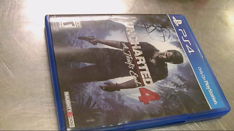 SONY PS4 GAME UNCHARTED A THIEFS END