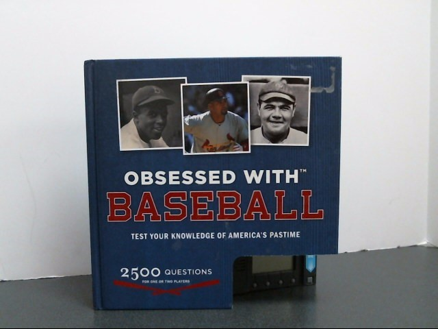 CHRONICLE BOOKS Game OBSESSED WITH BASEBALL