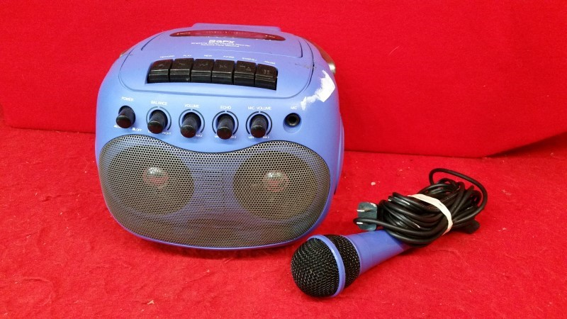 Gpx C1005rs Singalong Stereo Cassette Recorder