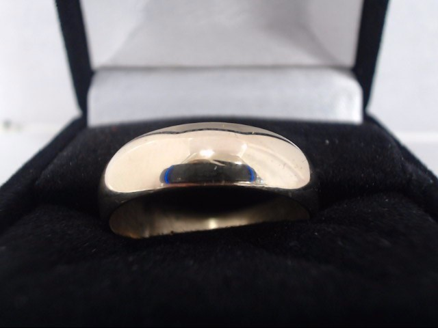 Gent's Gold Ring 14K Yellow Gold 6g Size:7