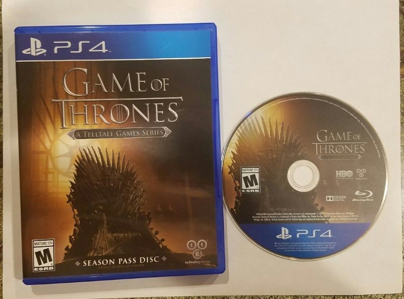 GAME OF THRONES A TELLTALE GAMES SERIES - PS4