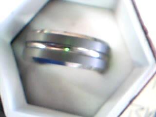 Gent's Ring Silver Tungsten 80g