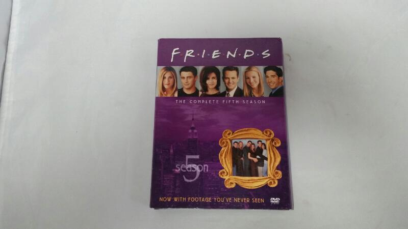 DVD BOX SET FRIENDS SEASON 5  4 DISC SET