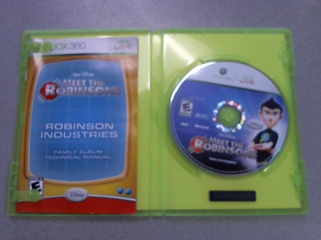 MICROSOFT Microsoft XBOX 360 Game MEET THE ROBINSONS