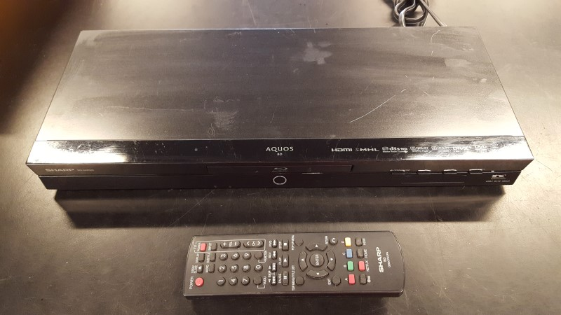 SHARP Blu-Ray Player BD-AMS20U
