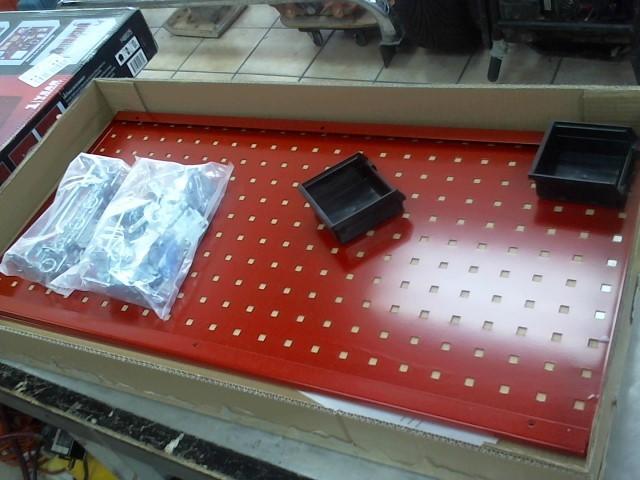 CRAFTSMAN Tool Storage Box STEEL PEGBOARD